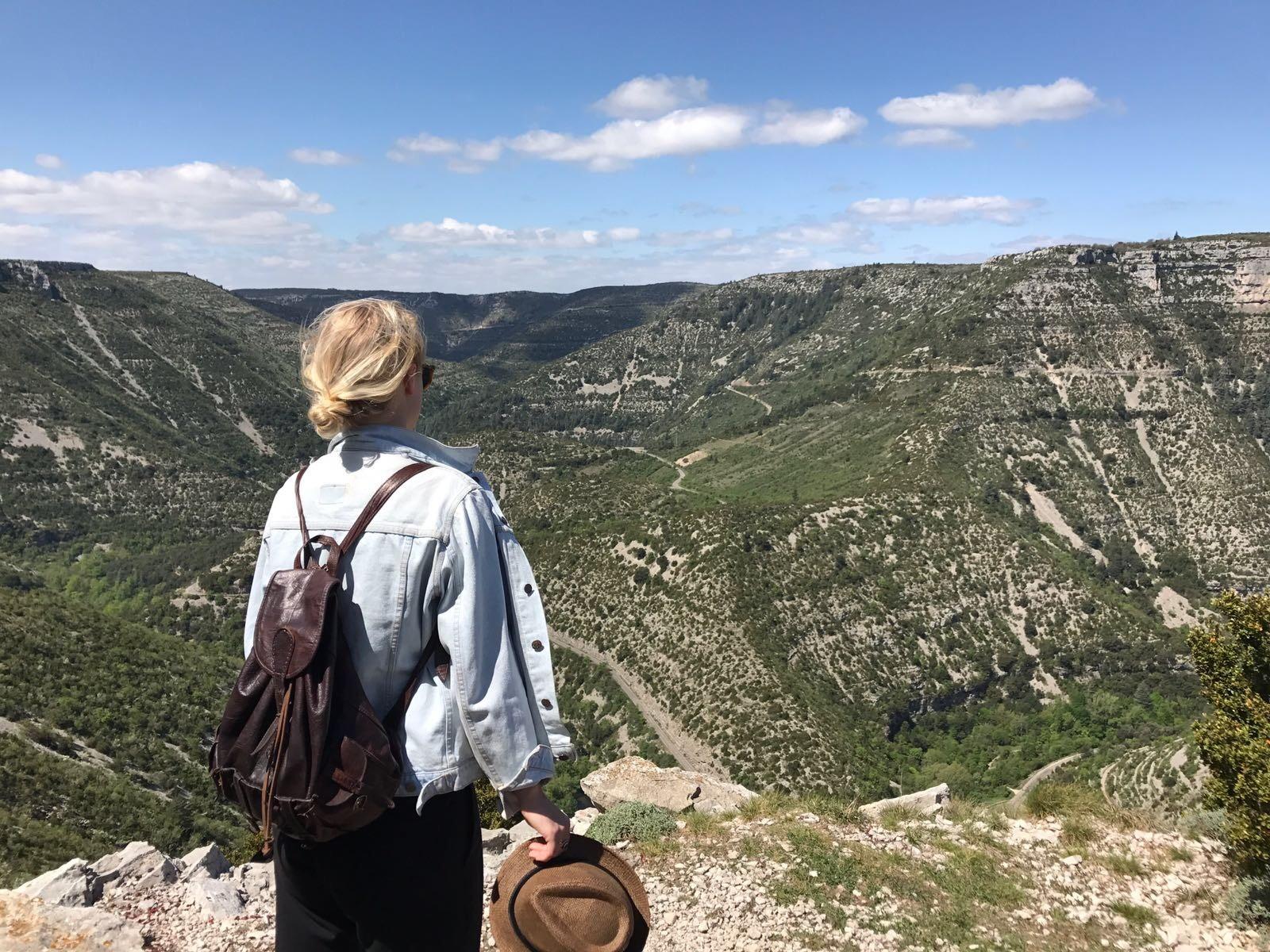 Uitzicht Occitanië