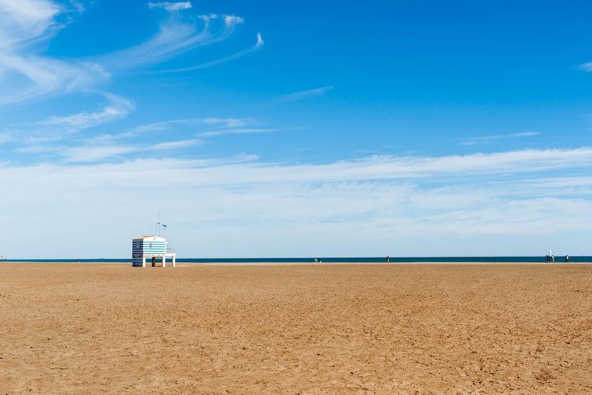 De stranden bij Narbonne