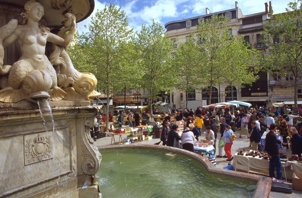 Markt Carcassonne