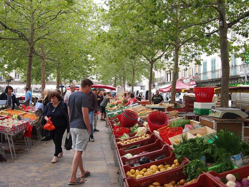 Leuke markten in Occitanië