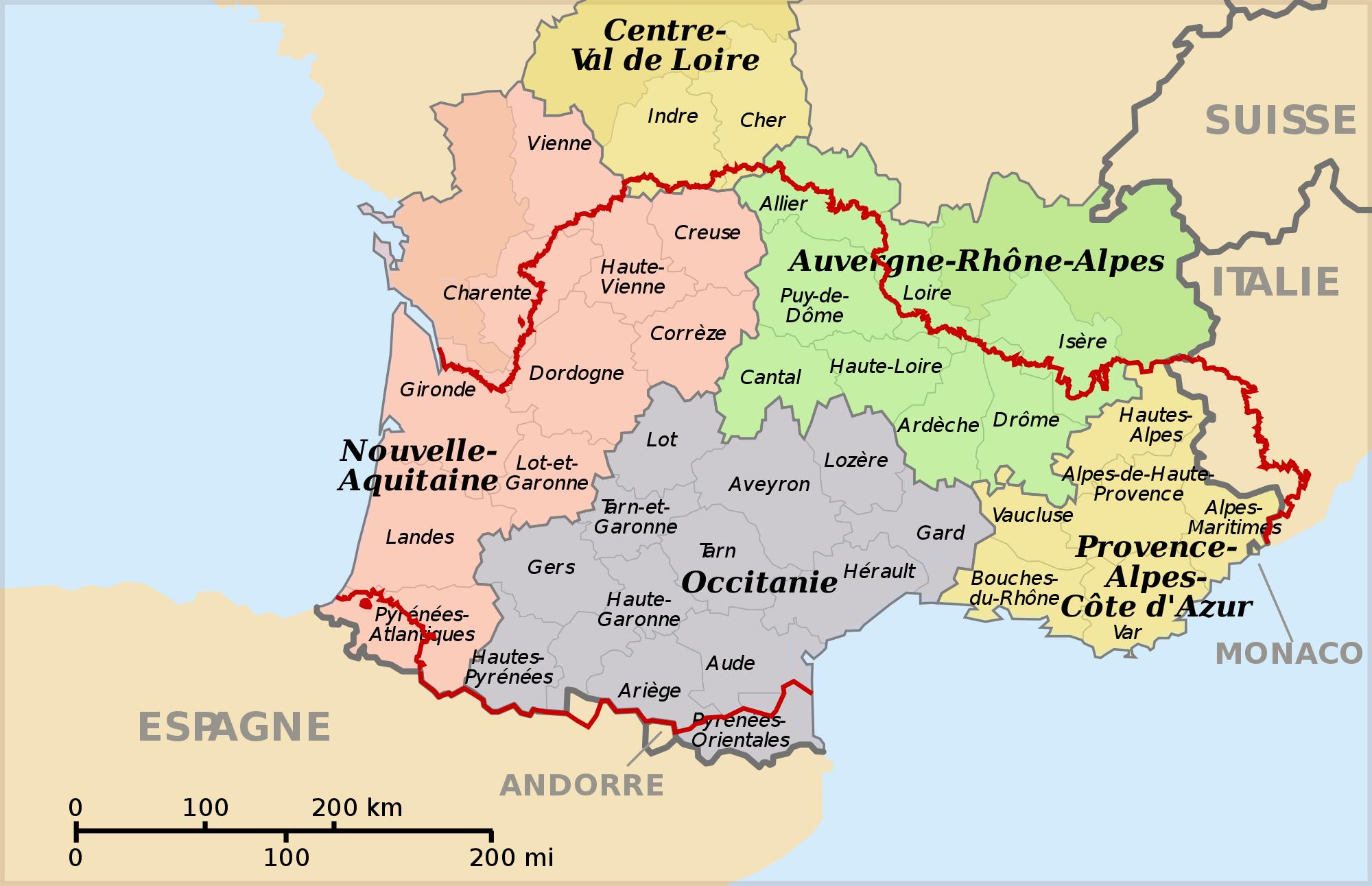 Van Languedoc naar Occitanië