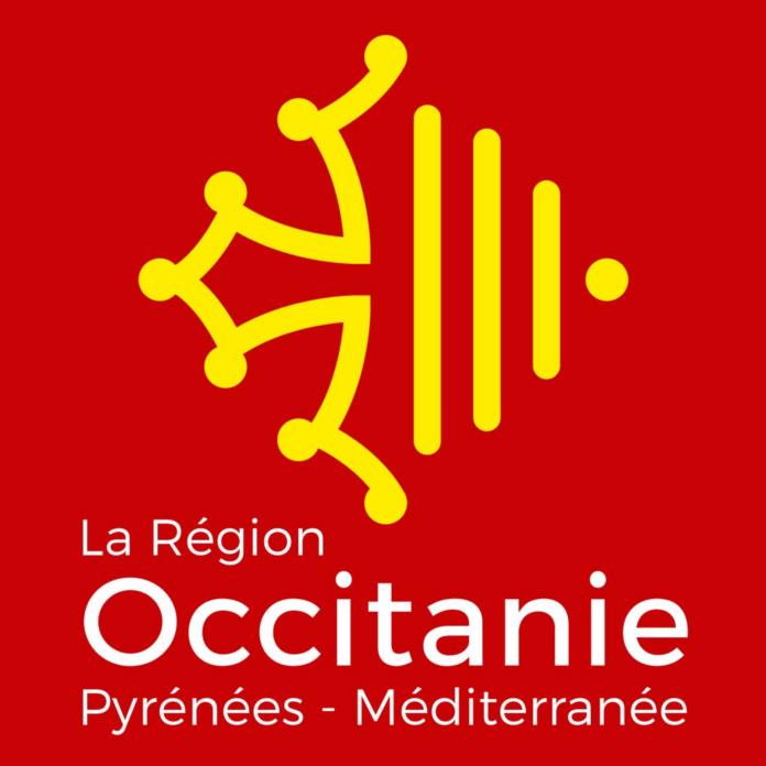 Vlag regio Occitanië