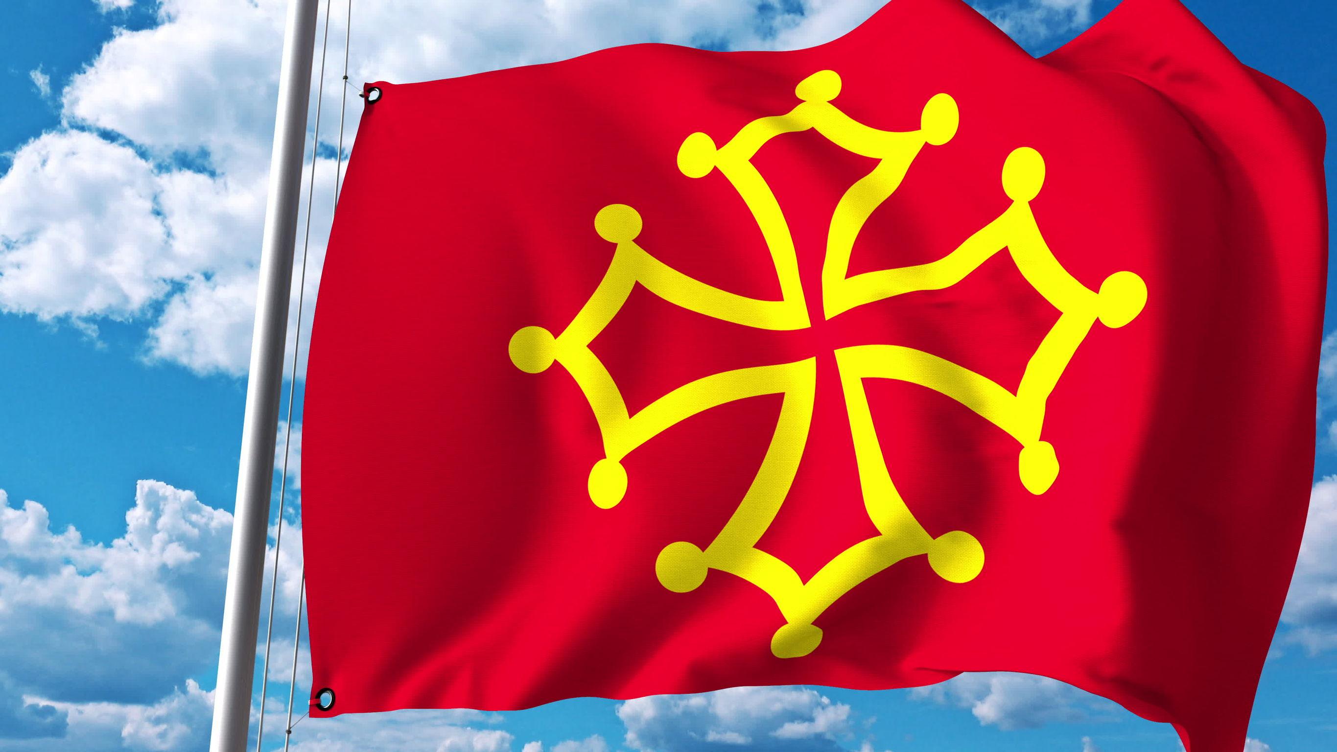 Vlag Occitanië