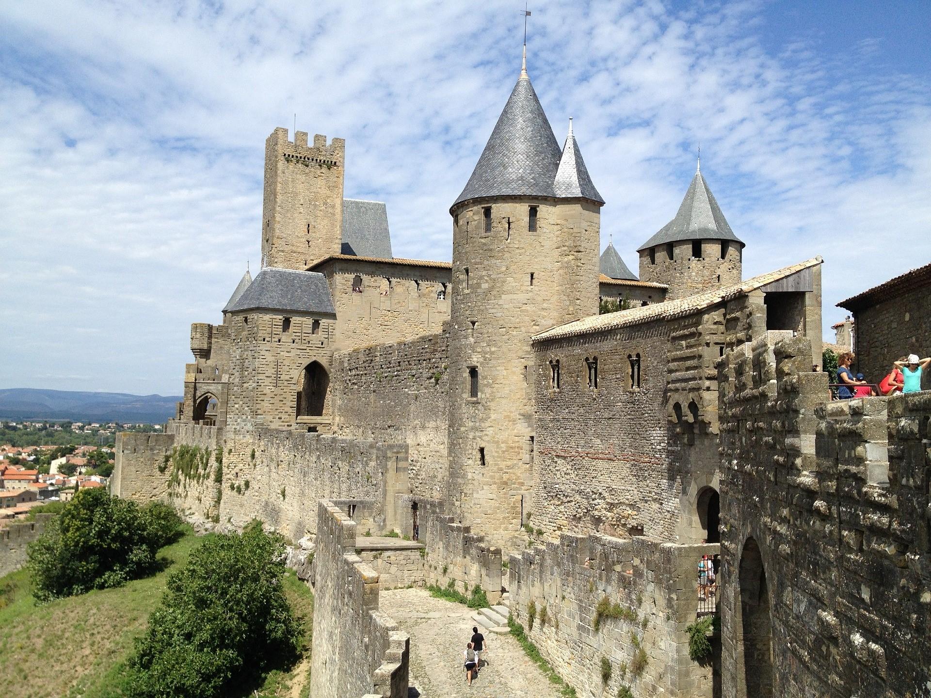Bezoek de middeleeuwse stad Carcassonne