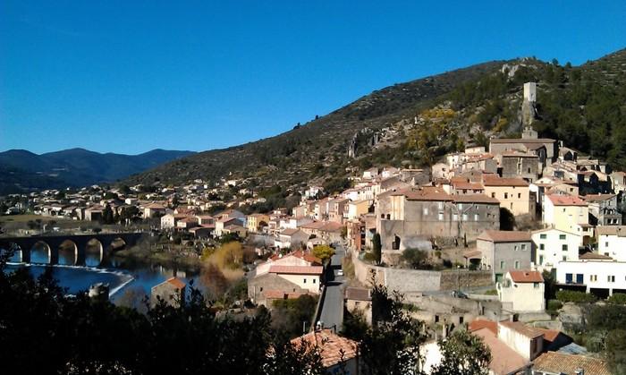 Roquebrun een prachtig historich dorp